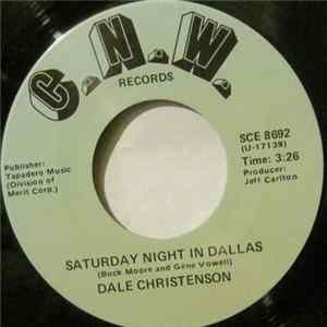 Dale Christenson - Saturday Night In Dallas Album