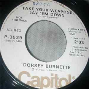 Dorsey Burnette - I Let Another Good One Get Away Album